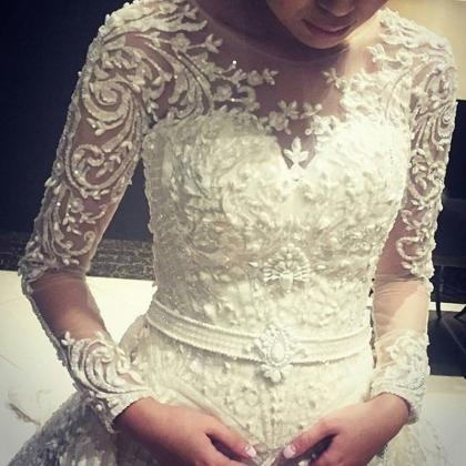 Luxury Wedding Dress, Ball Gown Wed..