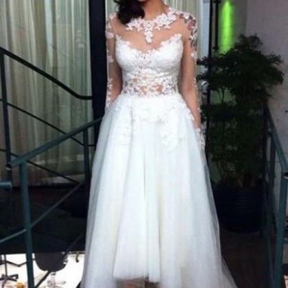 Wedding Dress,High Low Wedding Dres..