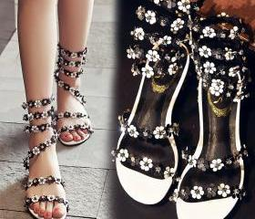 Fashion open toe shi..