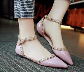 Pointed-Toe Ankle St..