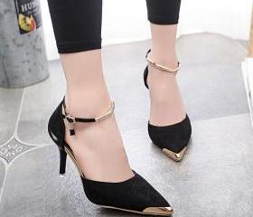 Pointed Toe Suede Hi..