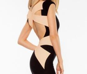 Cross Bandage Back L..