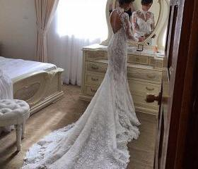Mermaid Lace Wedding..