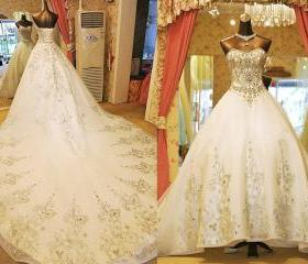 Floor-Length Wedding..