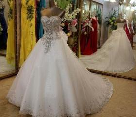 Beaded Ball Gown,Swe..