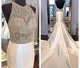 Beaded Prom Dress wi..