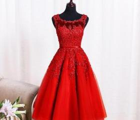 Applique Tulle Prom ..