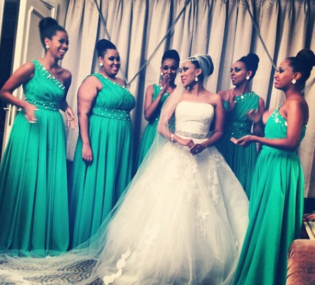 Elegant One Shoulder Green Plus Size Bridesmaid Dress,Long Chiffon Junior Bridesmaid Dresses, Long Cheap Green Prom Dresses Party Evening Gown