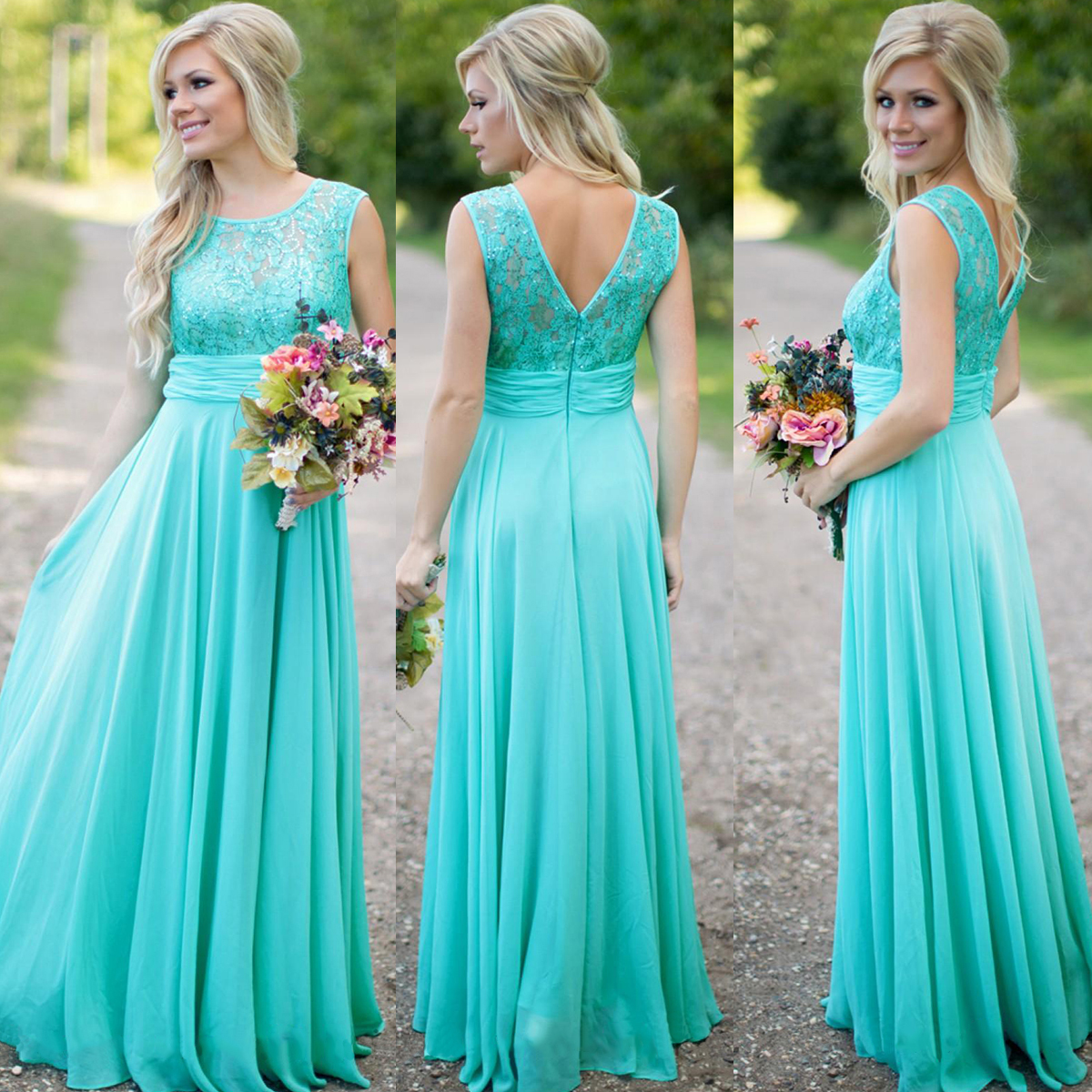 Turquoise blue bridesmaid dress lace bridesmaid dress long turquoise blue bridesmaid dress lace bridesmaid dress long bridesmaid dress wedding party dress cheap bridesmaid dress chiffon bridesmaid dress ombrellifo Image collections