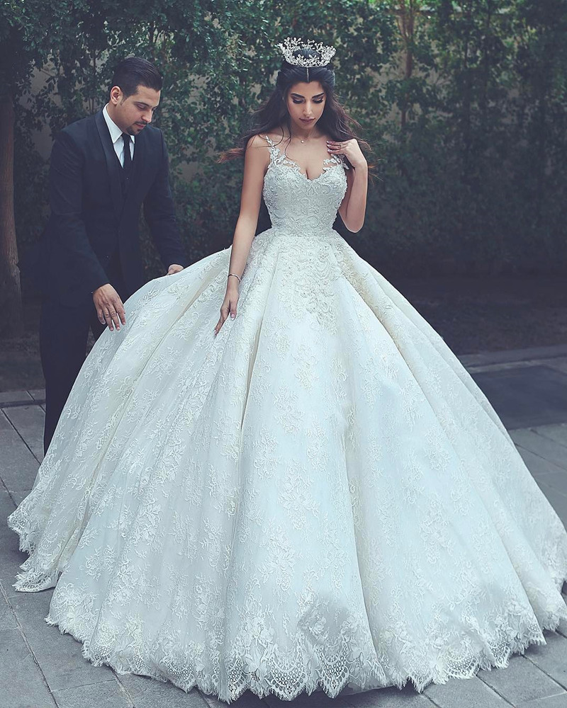 Cheap Wedding Dresses 2017,lace Wedding Gowns,princess Wedding Dress ...