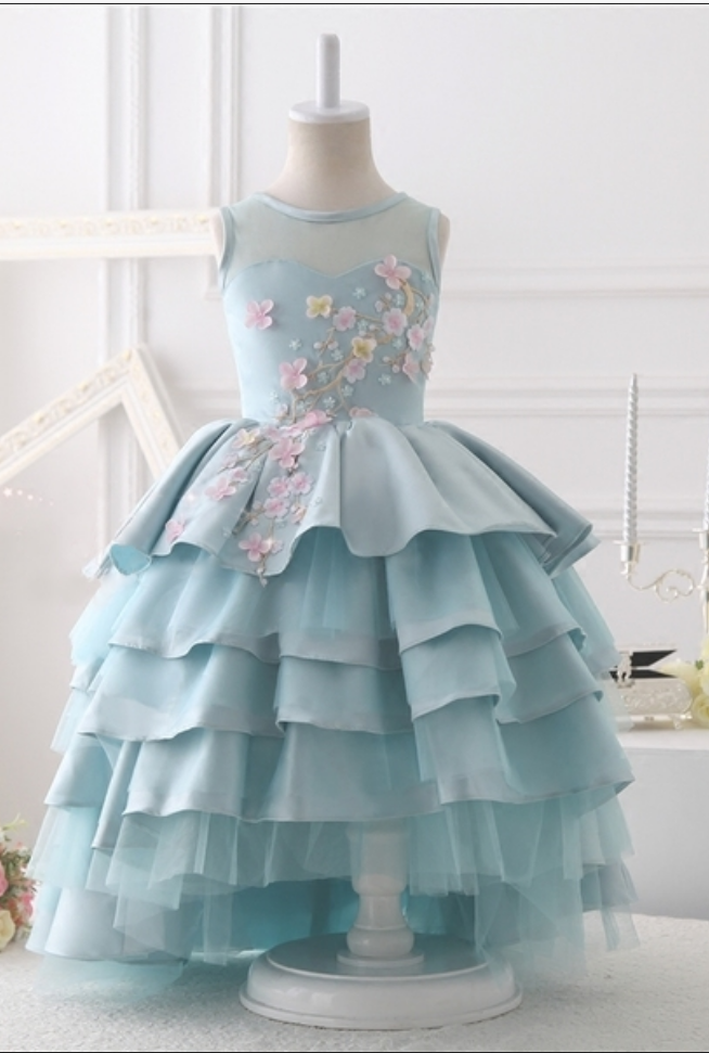Little Girl Birthday Gown Baby Girl Birthday Dress Princess Gown