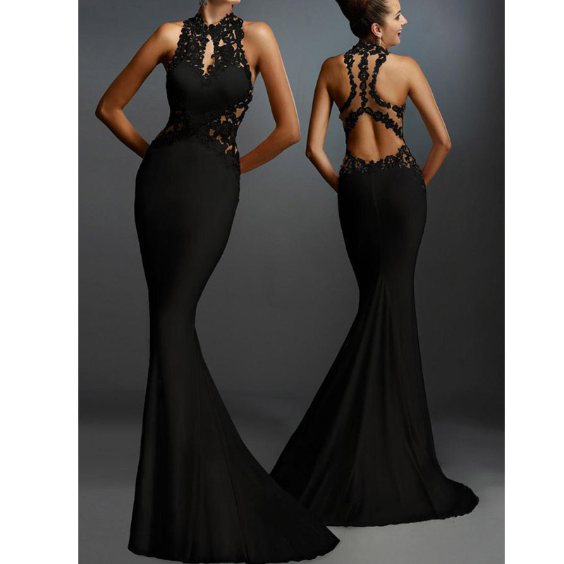 High Quality Beautiful Open Back Maxi Dress On Luulla