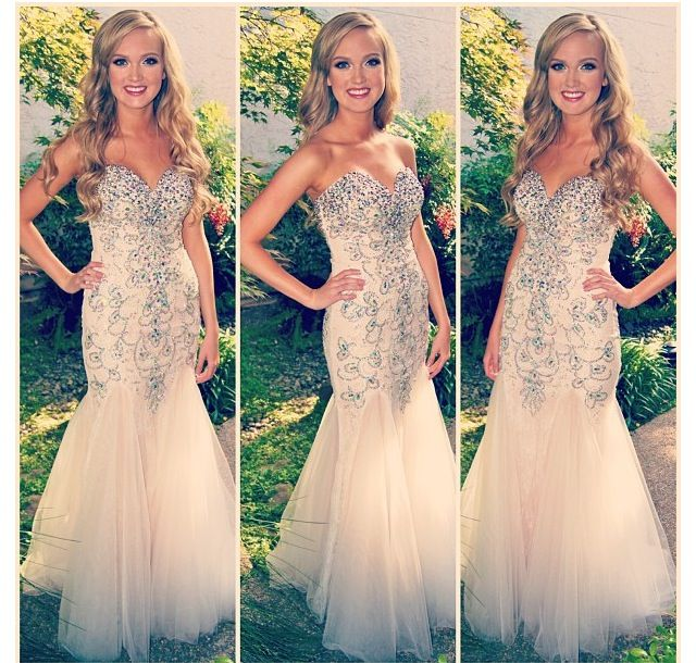 a14ebdcfbe05 Charming EVENING Dress Strapless PARTY Dress Beading Prom Dress Mermaid Prom  Dress Sexy Prom Dress