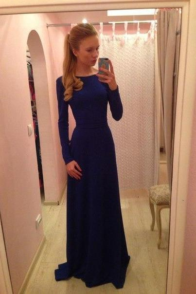 Sheath Prom Dress,Long Sleeve Prom Dress,Fashion Prom Dress,Sexy Party Dress, New Style Evening Dress
