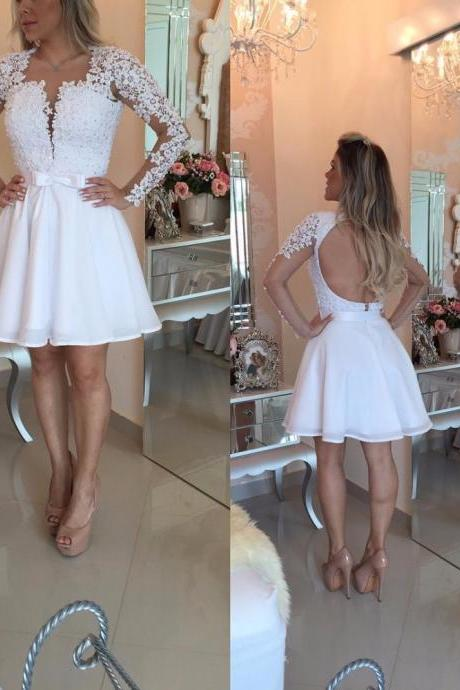 Cheap homecoming dresses 2017,2017 Homecoming Dresses,A-line Homecoming Dresses,Pink Homecoming Dresses,Appliques Homecoming Dresses,Short Prom Dresses,Party Dresses