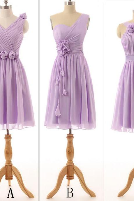 Purple Bridesmaid Dresses ,Bridesmaid Dresses, Mismatched Bridesmaid Dresses, Cheap Bridesmaid Dresses, Chiffon Bridesmaid Dress, Bridesmaid Gowns, Short Bridesmaid Dresses, Summer Bridesmaid Dress, Dress For Wedding