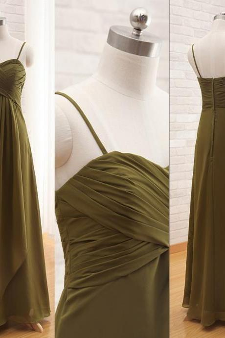 Bridesmaid Dresses, Sweetheart Bridesmaid Dresses, Long Bridesmaid Dresses, Chiffon Bridesmaid Dress, 2015 Evening Dresses
