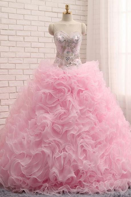 Cheap prom dresses 2017, Sweetheart Quinceanera Dresses ,Ball Gown Quinceanera Dresses,Quinceanera Gown,