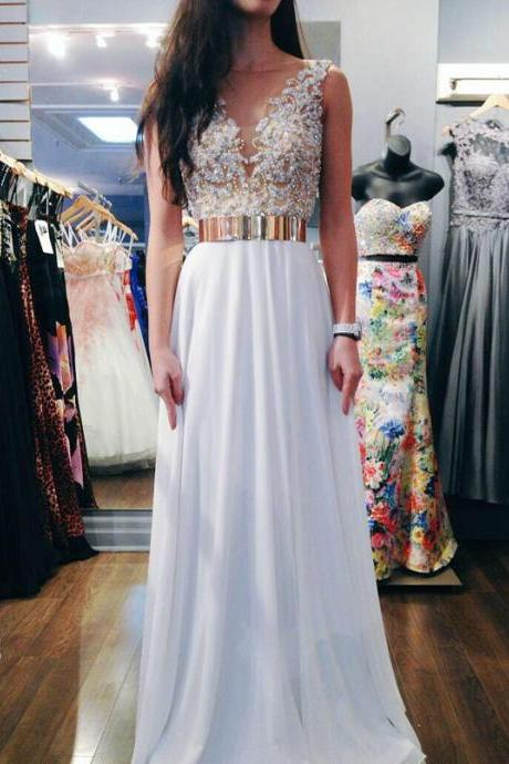 Cheap wedding dresses 2017,Sexy Beaded Chiffon Prom Dresses, Wedding Party Dresses, Graduation Party Dresses, Formal Dresses