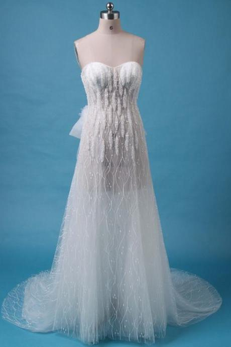 See Through Wedding Dresses - Luulla