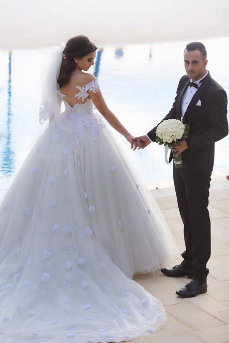 Cheap wedding dresses 2017,Saudi Arabia Wedding Dress 2017 Ball Gowns Sweetheart off the Shoulder Luxurious Lace Country Wedding Gowns Backless Bridal Dresses Vestido Branco vestidos de novia