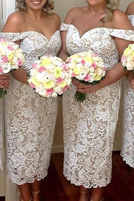Cheap bridesmaid dresses 2017,Lace Short Bridesmaid Dresses With Straps 2017 Elegant Wedding Party Dress For Maid Of Honor