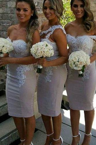 Charming Bridesmaid Dress,Sexy Sheath Bridesmaid Dresses,
