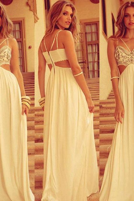 Women Sexy Summer Boho Long Maxi Evening Party Dress Beach Dresses Chiffon Dress