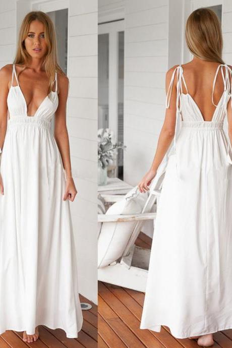 New Sexy Women Evening Party Dress Summer Beach Maxi Long Casual Dress Sundress