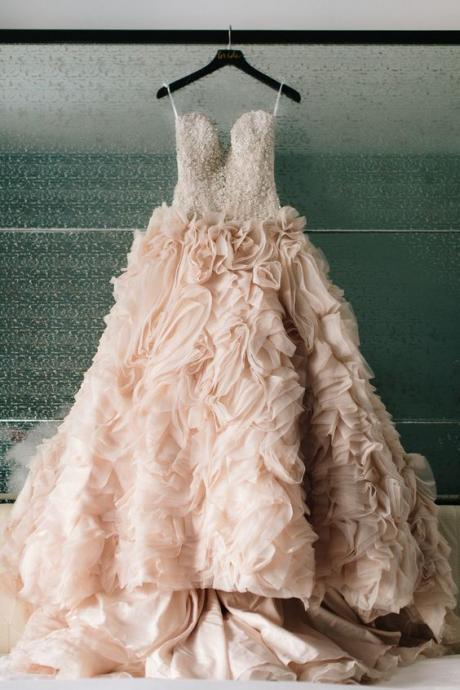 Wedding Dresses,Ball Gown Wedding Dress, Tulle Wedding Dress, Wedding Dress