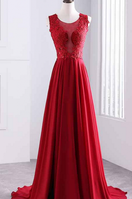 sexy prom dresses,a line prom dresses,lace appliques prom dresses