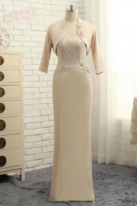 Stunning 2017 Mother Of The Bride Dresses Sheath Floor Length