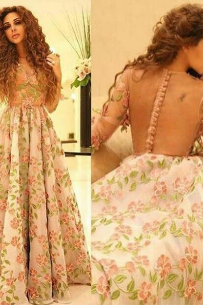 Cheap Prom Dress, A Line Prom Dress, Sheer Back Prom Dress, Prom Dresses 2018, Women Formal Dress, Elegant Prom Dress