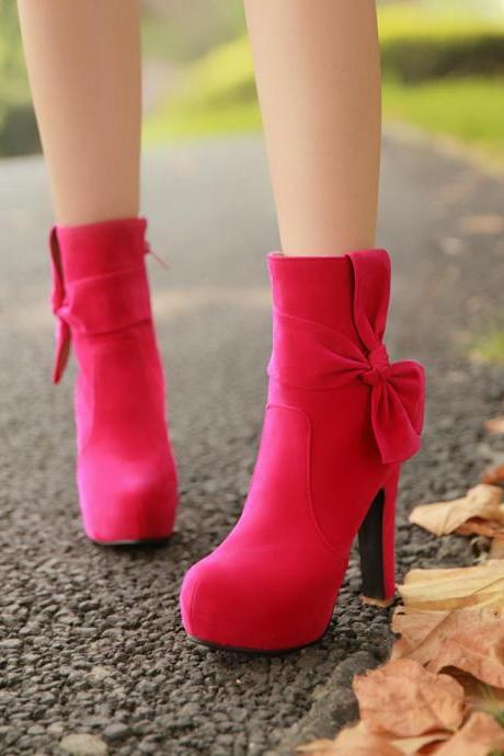 Shoes,suede boots,fashion boots, Boots,High Platform Boots,Ankle Boots Shoes