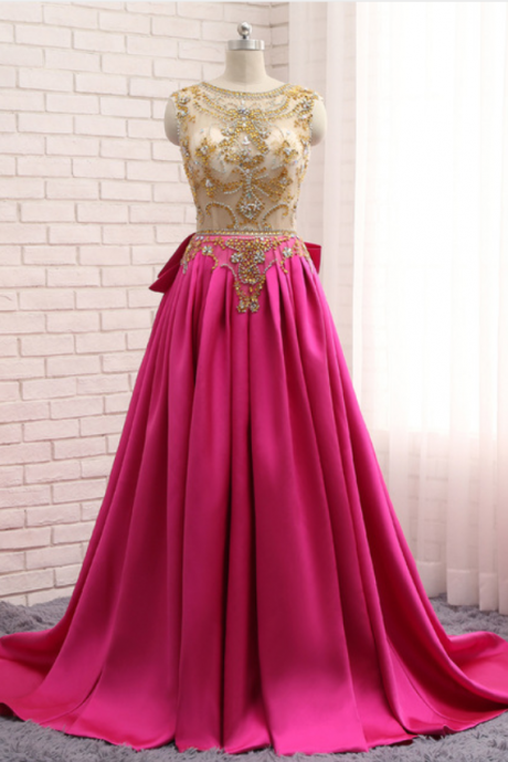 pink satin gown with a sexy evening gown and evening gown