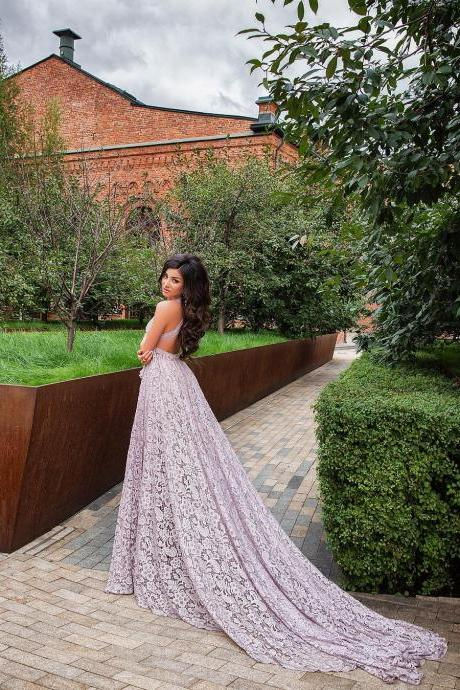 Full Lace Prom Dresses Long Prom Dresses Party Dresses
