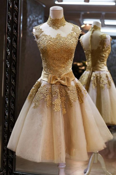 Custom Made Round Neck Short Prom Dresses, Short Graduation Dresses, Cocktail Dresses