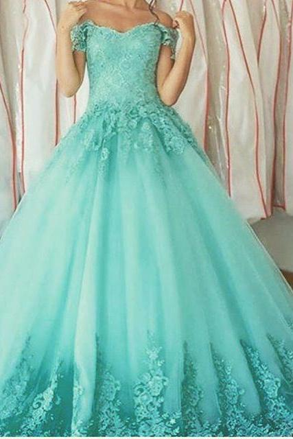 Prom Dress,Sexy Fashion Quinceanera Dress Sweetheart Appliques Ball Gown Quinceanera Gown Vestidos de 15 Debutante Gowns