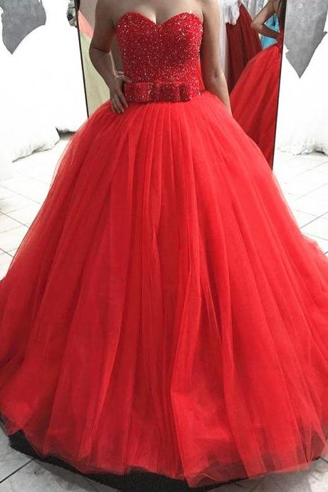Sexy Prom Dress,A Line Ball Gown Tulle Prom Dresses,Long Evening Dress,Formal Dress