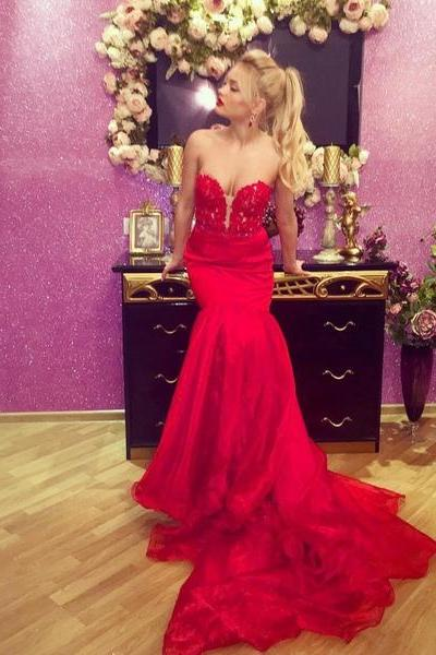Red Prom Dresses,Prom Dress,Red Prom Gown,Prom Gowns,Elegant Evening Dress,Modest Evening Gowns,Simple Party Gowns