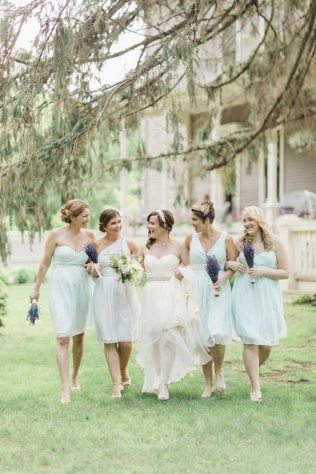 Short Bridesmaid Dress,Mint Green Bridesmaid Dress,Mismatched Bridesmaid Dress,Cheap Bridesmaid Dress,Popular Bridesmaid Dress