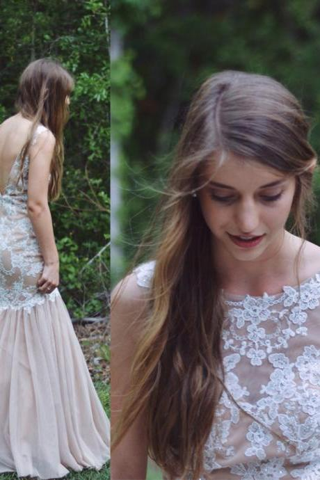 Prom Gown,Prom Dresses With Lace,Evening Gowns,Mermaid Formal Dresses,Prom Dresses 2017