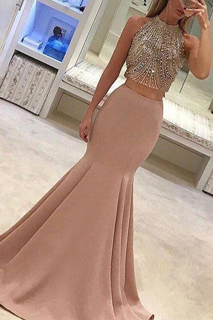 Pink Prom Dresses,Prom Gowns, Pink Prom Dresses,Long Prom Gown,Prom Dress,Sparkle Evening Gown,Sparkly Party Gowbs