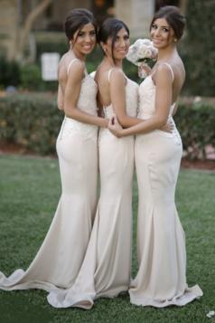 Long Bridesmaids Dress, Appliques Bridesmaids Dresses,New Arrival Formal Dresses Party Gowns
