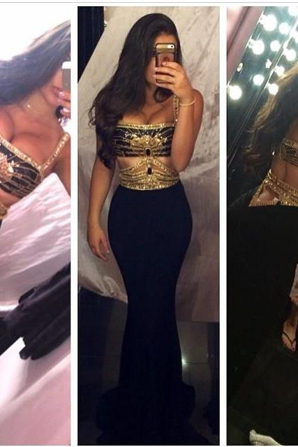 Mermaid Prom Dresses,Black Prom Dress,Prom dress,Modest Evening Gowns,Cheap Party Dresses,Graduation Gowns
