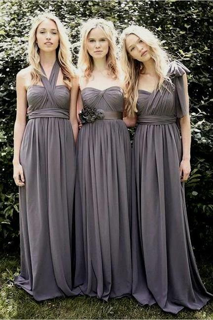 3 Styles in1 Bridesmaid Dresses