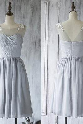 Appliques Short bridesmaids dresses, Sexy Mismatched bridesmaid dress, Cheap bridesmaid dresses,Bridesmaid Dresses,