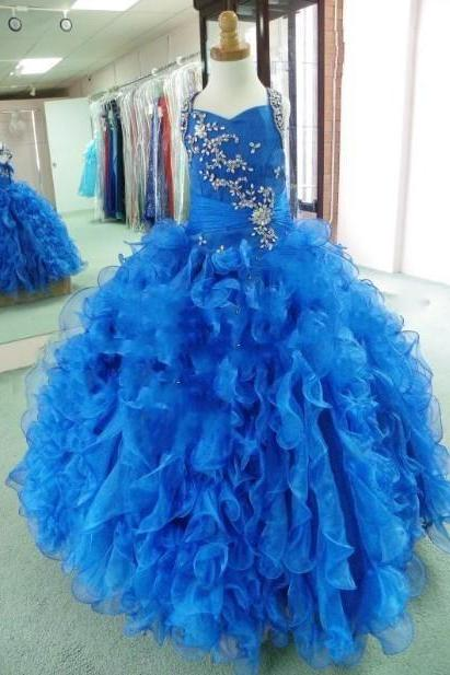 Pageant Blue Halter Neck Piping Ball Gown Cheap Crystals Major Beading Quinceanera Dresses 2017 Wonderful Classic Designer