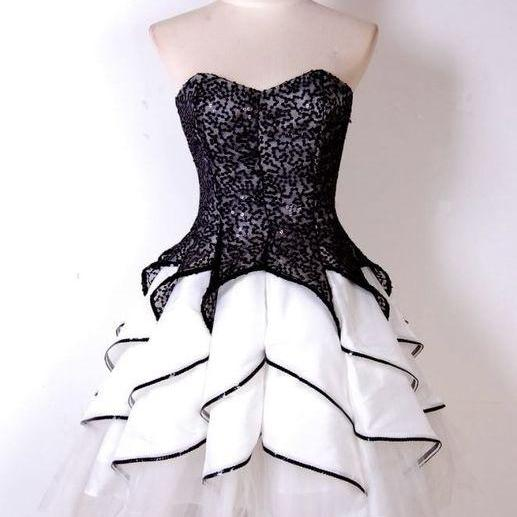 Black Homecoming Dresses,Lace Homecoming Dress,Cute Homecoming Dresses,Tulle Homecoming Gowns,2017 Prom Gown,Party Gown