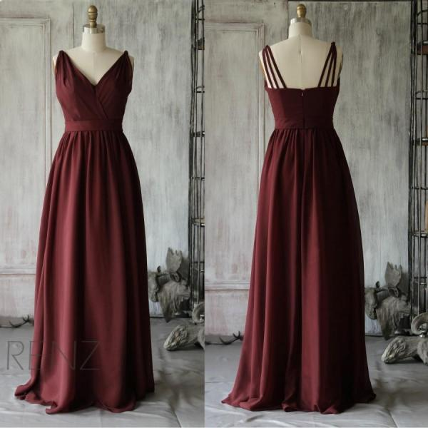 Burgundy Prom Dress,Long Maxi Prom Dress,Fashion Prom Dress,Sexy Party Dress,Custom Made Evening Dress